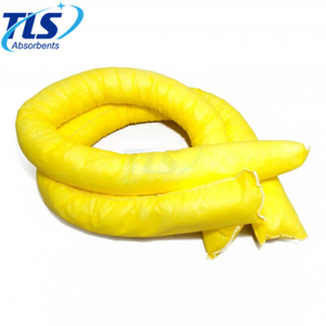12.7CM x 3M Spill Absorbent Socks for Hazardous Chemicals Yellow
