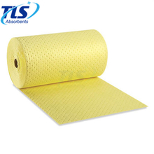 80cm*50m*3mm Yellow Chemical Spill Absorbent Rolls For Laboratory