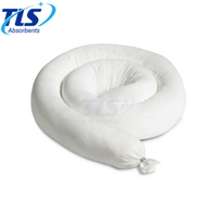 12.7cm x 6m 125L Reusable Oil Only Absorbent Booms for Industry