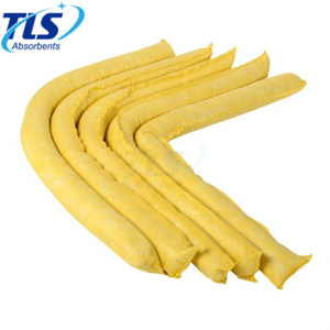 150L Yellow Spill Containment Methods Chemical Absorbent Booms