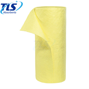 80cm*50m*5mm PP Chemical Absorbent Rolls For Hazardous Liquid Spills