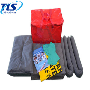45L Portable Carry Bag Universal Maintenance Grey Spill Kits