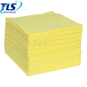 2.5mm Yellow Chemical Absorbent Spill Pads For Spill Event