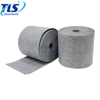 Grey Perforated Universal Absorbent Rolls 40cm*50m*5mm