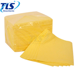 4mm Chemical Spill Absorbent Pads For Fuel And Oil