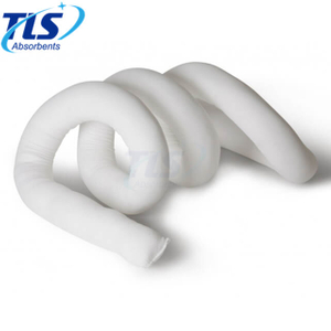12.7cm x 3m White Oil Only Absorbent Socks for Marine