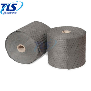 80cm*50m*3mm Universal Maintenance Absorbent Rolls Dimpled perforated