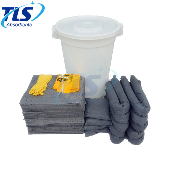 660L General Purpose Spill Kit Sorbents for Spill Control Grey Color