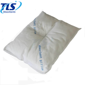 35cm x 45cm White Super Absorbent Oil-Only Sorbent Pillow for Fueling Stations