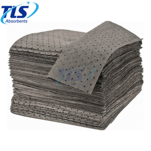 Grey Color Reusable Universal Chemical Absorbent Pads