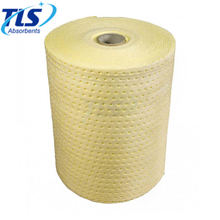 100% polypropylene Chemical Absorbent Roll 50m For Spill Control