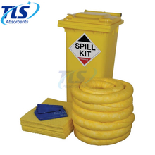 1100L Wheelie Bin Chemical Spill Clean Up Kit