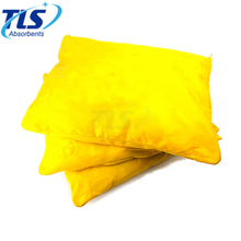 35cm x 45cm Yellow Hazmat pillows for Aggressive Liquids or Unidentified Substances