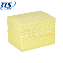 5mm Yellow Chemical Spill Absorbent Pads For Marine