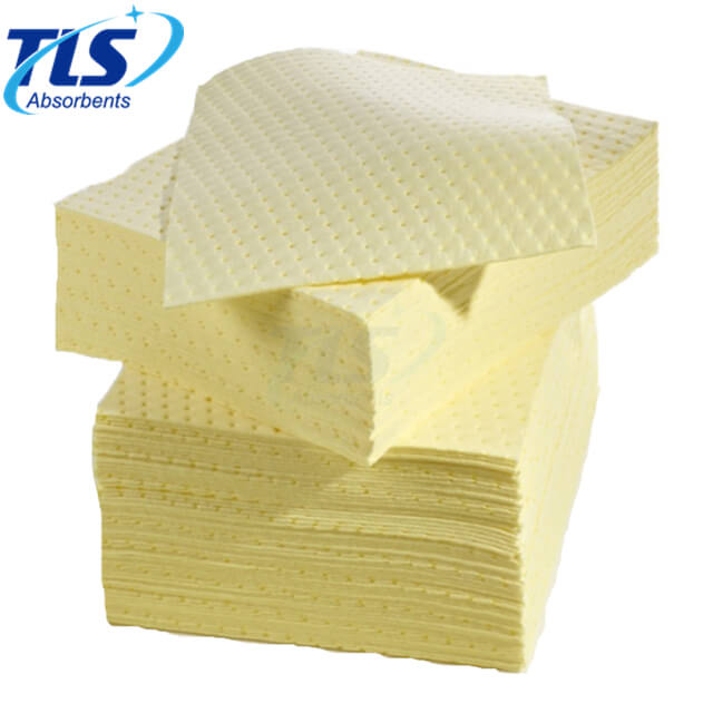 Yellow Melt-Blown Polypropylene Chemical Hazardous Spill Mats