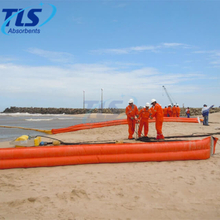 Rubber Reusable Shore seal Oil Containment Boom In Shallow Waters