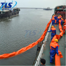 Water Spill PVC Solid Float Oil Contaiment Boom For Oil Leak