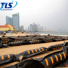 Solid Float Rubber Oil Containment Boom For Oil Spill