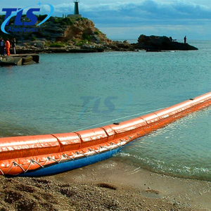 PVC Shoreline Beach Sealing Boom Light Weight Durable